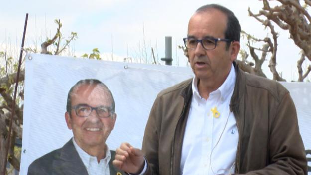 Xavier Humet, presidenciable a l'EMD per Guanyem Valldoreix / Foto: Cugat.cat