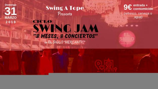 Cicle Swing Jam '8 mesos, 8 concerts'