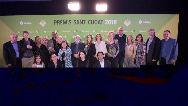 [FOTOGALERIA] La gala dels Premis Sant Cugat 2018, en imatges