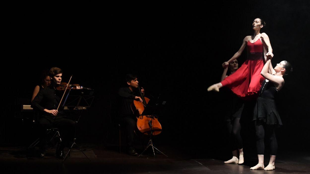 Els dos nous plans d'estudis s'han presentat en un acte al Teatre de Mira-sol / Foto: Localpres
