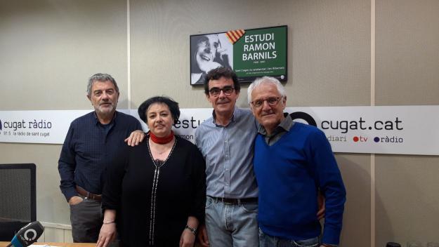 La trabucaire Conxita Juliana visita el 'Converses consentides' d'aquesta setmana