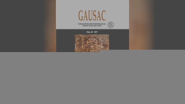 Presentació del número 50 de la revista 'Gausac'