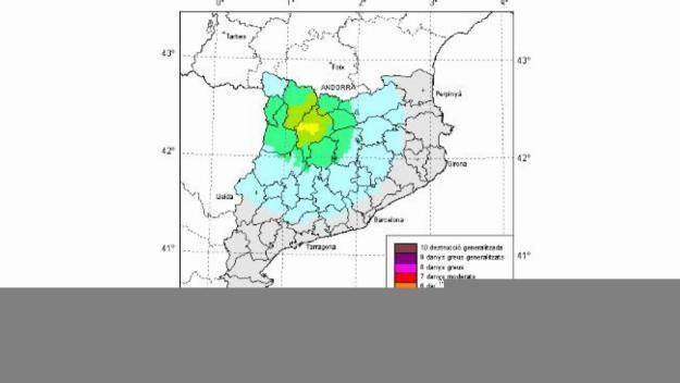 El terratrèmol originat al Pirineu es percep lleugerament a Sant Cugat