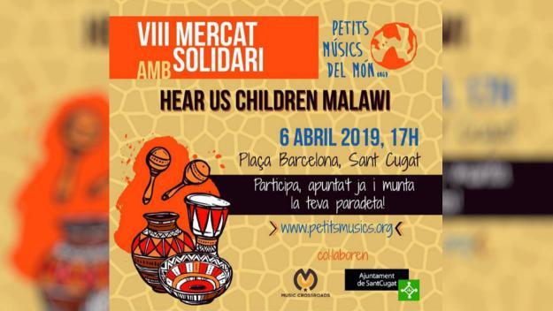 8è Mercat Solidari amb Hear Us Children Malawi