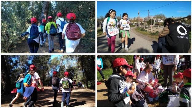 Milers d'infants han participat a la Marxa / Foto: Cugat.cat