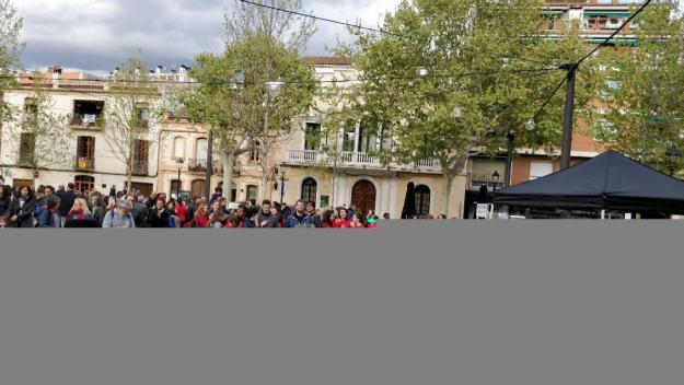 La música ha acompanyat la jornada / Foto: Cugat.cat