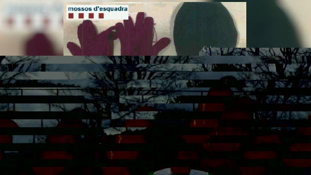 Objectes trobat pels Mossos d'Esquadra / Foto: Mossos