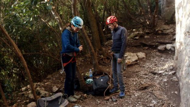 Escalada a Montserrat per a gent mandrosa