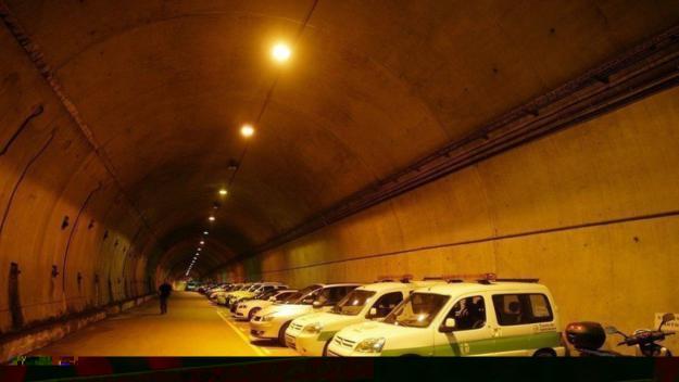 La plataforma demana l'aprofitament del túnel de serveis de Vallvidrera com una via ciclable / Foto: BikeVidrera