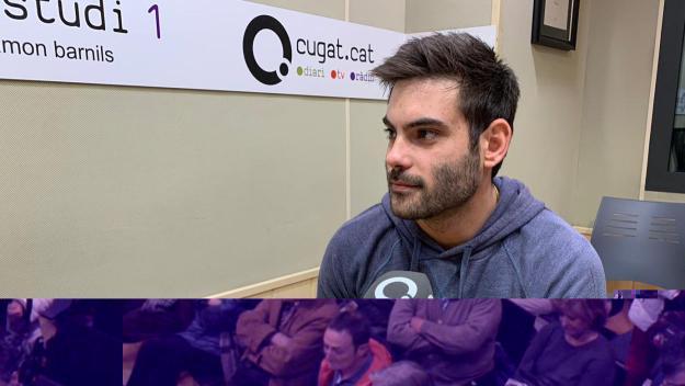Cortés (Handbol Sant Cugat): 'Hem aconseguit mantenir la categoria i això és molt important'