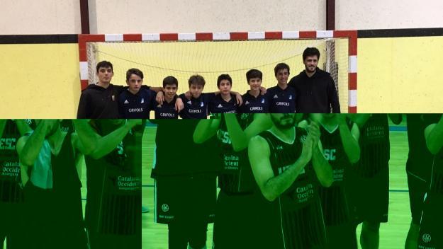L'equip infantil del Junior d'hoquei sala / Font: Álex Pastor