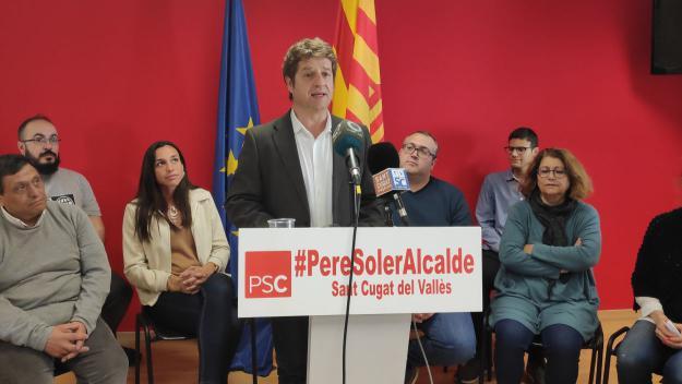 El PSC fa pública una llista 'lligada al ventall professional, territorial i social' de la ciutat