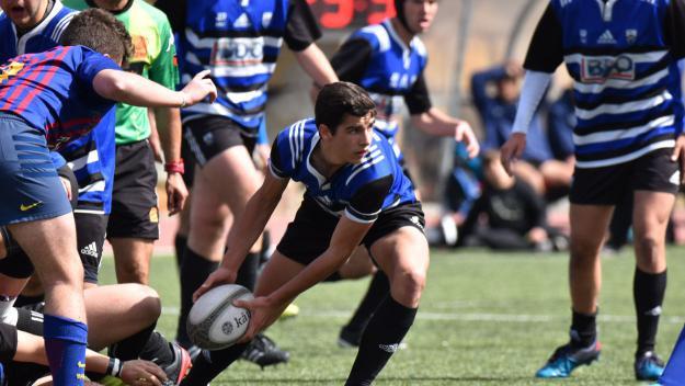 El sub 16 i sub 18 del Rugby Sant Cugat volen ser Campions de Catalunya aquest dissabte