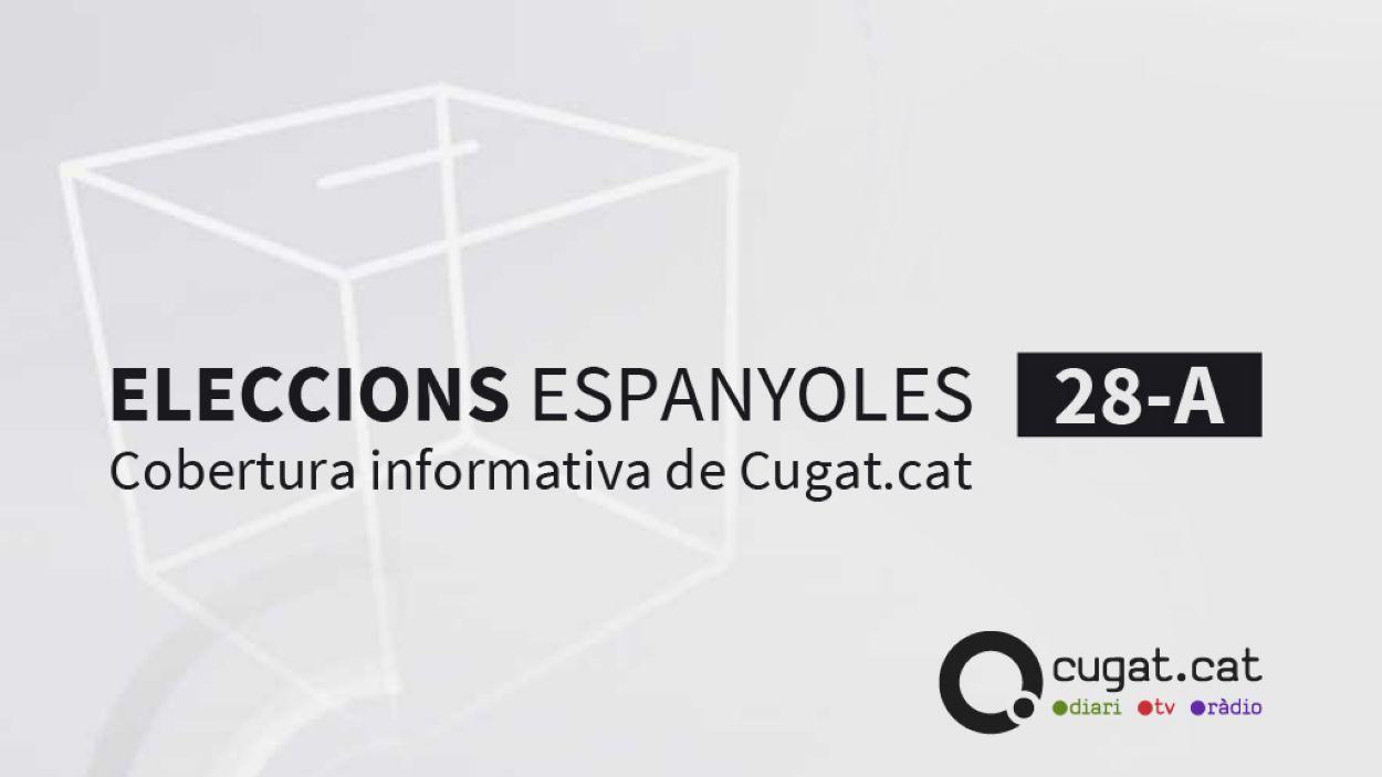 Cobertura especial per les eleccions del 28-A / Foto: Cugat.cat