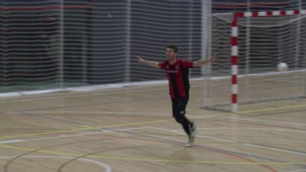 El Futbol Sala Sant Cugat més golejador s'imposa al Montsant i s'apropa a la zona segura