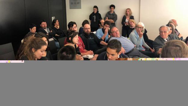 Moment de la intervenció de la FMA / Foto: Cugat.cat