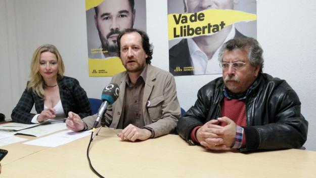Eva Lafuente, Oriol Cisteró i Francesc Osan / Foto: Cugat.cat