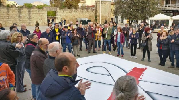 ANC i Òmnium recorden l'any i mig de presó dels 'Jordis'