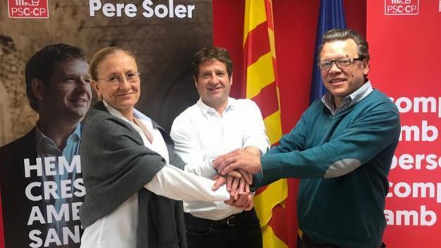 Imatge de Casta, Soler i Cardoner / Foto: PSC