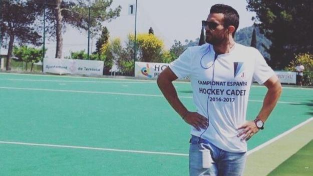 Marcel Malgosa, nou tècnic del Junuor femení d'hoquei herba / Font: Junior FC