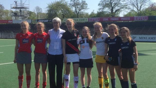 L'infantil femení del Junior finalitza cinquè a l'Euro Hockey Club