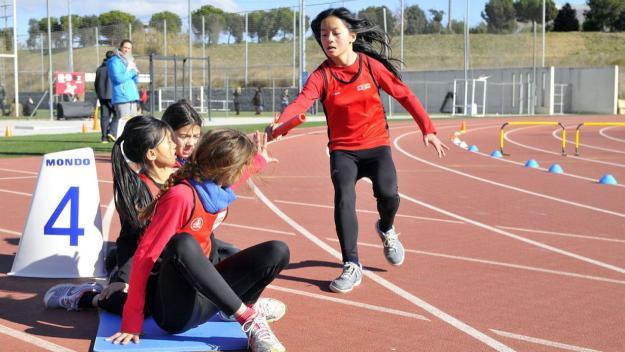 Imatge de la lliga d'atletisme escolar / Font. Localpres