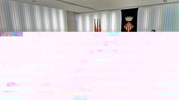 Imatge de la sala de plens en una sessió anterior / Foto: Ajuntament