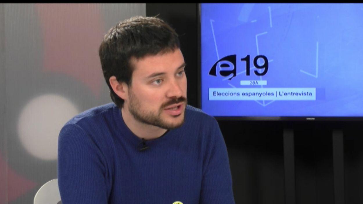 [Entrevista 28-A] Bernat Picornell (ERC): 'Necessitem un referèndum homologable arreu del món'