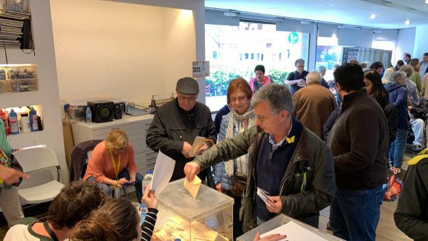 Imatge d'arxiu de les darreres eleccions espanyoles / Foto: Cugat Mèdia