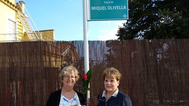 La Floresta dóna la benvinguda a la plaça de Miquel Olivella