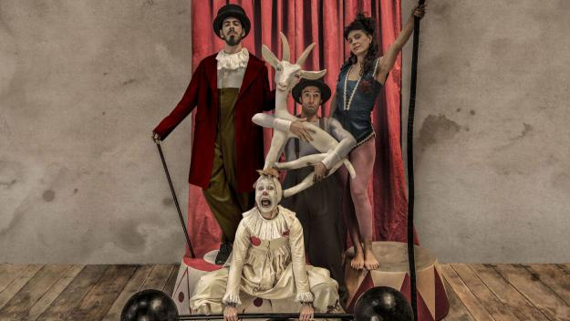 'Acróbata y Arlequín', un circ com els d'abans, arriba avui al Teatre-Auditori