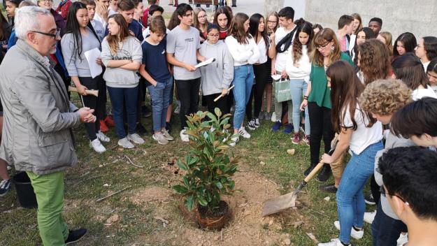 L'Angeleta celebra 20 anys d'intercanvi amb el Collège Molière de Villeneuve-d'Ascq