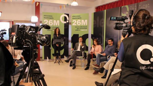 Els ciutadans prenen la paraula en els debats preelectorals de Cugat.cat