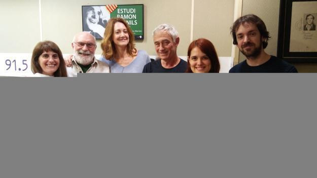 Analía Puentes, Eduard Jener, Romina Cocca, Carlos Tejedor, Mireia Casado  i Marc Sumsi / Foto: Cugat.cat