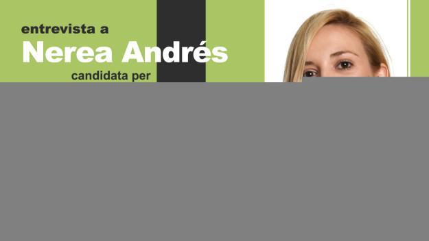 Nerea Andrés, passa per l'estudi de Cugat.cat / Foto: Cugat.cat