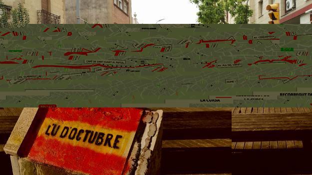 La vianantització de l'avinguda de Cerdanyola comença a caminar