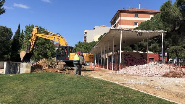 La remodelació dels Jardins del Vallès, en marxa