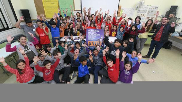 El festival s'ha presentat aquest dimarts a l'escola Joan Maragall / Foto: Localpres