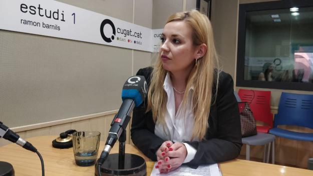 [Entrevista 26-M] Nerea Andrés (Vox): 'Som el partit del sentit comú i de l'extrema necessitat'