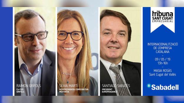 Tribuna Sant Cugat Empresarial: 'Internacionalització de l'empresa catalana'
