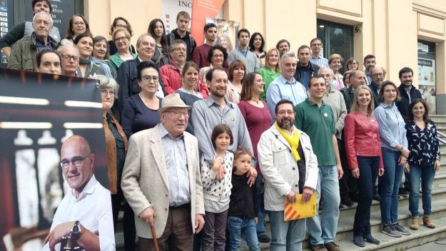 ERC-MES presenta el seu manifest per visualitzar 'el nou impuls a Sant Cugat'