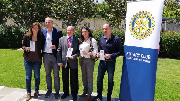 La Nit Rotària premiarà l'empresari  Robert Navarro i la Fundació Ivan Mañero el 8 de juny