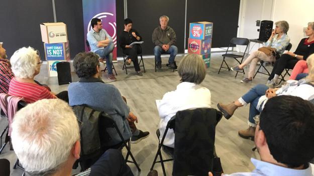 Sant Cugat en Comú vol reformular la participació ciutadana i acabar amb els 'desequilibris'