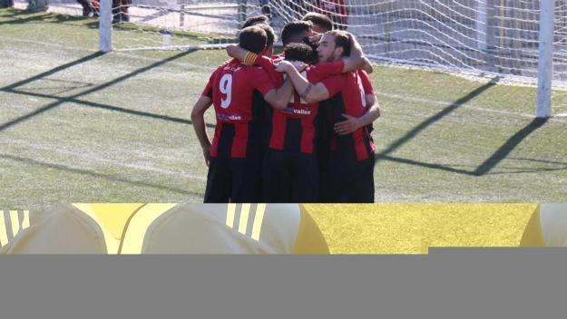 Imatge dels jugadors santcugatencs / Foto: Sant Cugat FC