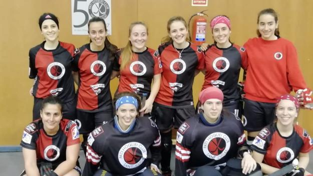 L'equip femení del Patí Hoquei Club Sant Cugat / Font: Cugat.cat