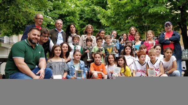 [Fotogaleria] Els primers classificats de la Marxa Infantil reben els premis