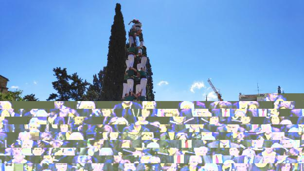 Els Gausacs volen exhibir-se a la Festa Major amb una Diada Castellera d'alt nivell