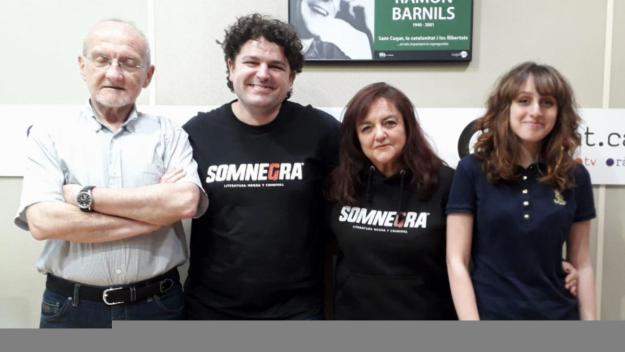 El 'Lletres i música' entrevista el responsable de SomNegra