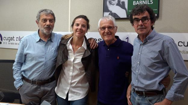 La regidora Joana Barbany visita el 'Converses consentides'