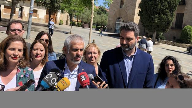 Cs denuncia l'Ajuntament davant Fiscalia per contractacions 'irregulars' de serveis